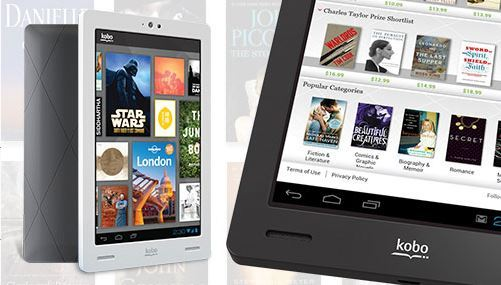 Kobo Ereader Device Comparisons