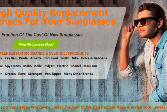Replace broken lenses for your Sunglasses with Sunglass Fix